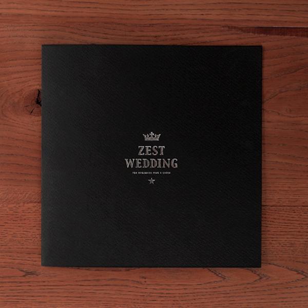 EDITORIAL/パンフレット制作 ZESTさんのパンフレットをデザインしました!