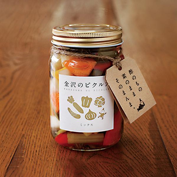 BRANDING/ブランディング 商品開発ブランディング  | 金沢の規格外野菜でつくる「金沢のピクルス」