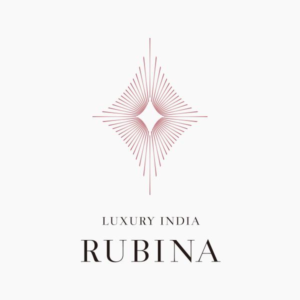 BRANDING/ブランディング ブランディング|ラグジュアリーインディア「ルビーナ」ロゴマークデザイン・Webデザイン