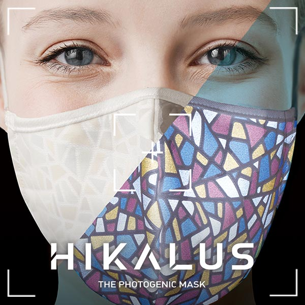 BRANDING/ブランディング ブランディング|小松プロセスさんのフォトジェニックマスク「HIKALUS /ヒカラス」