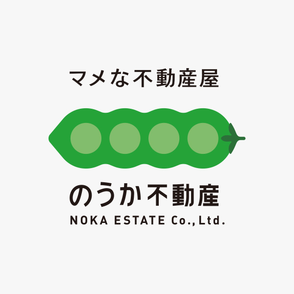 BRANDING/ブランディング ブランディング|石川県金沢市「のうか不動産」さんロゴマーク&プロモーション