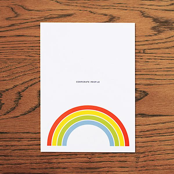 EDITORIAL/パンフレット制作 金沢市の株式会社オハラさんの会社案内をデザインしました。