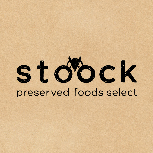 BRANDING/ブランディング ブランディンング|石川県金沢市にある保存食専門店「STOOCK/ストック」ロゴデザイン